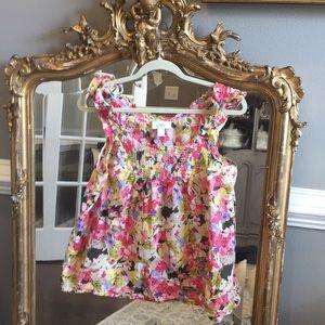 Loft Flowered Shirt